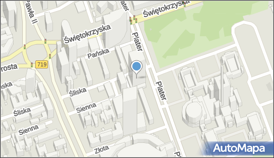 Handel Usługi, ul. Emilii Plater 49, Warszawa 00-125 - Przedsiębiorstwo, Firma, NIP: 5260027174