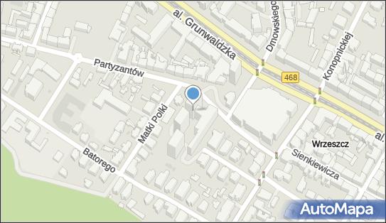 Kancelaria Notarialna, ul. Partyzantów 14, Gdańsk 80-254 - Przedsiębiorstwo, Firma, numer telefonu, NIP: 5421563401