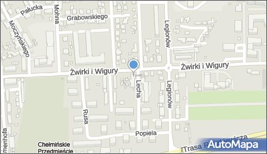 Kiosk Wielobranżowy, Lecha 2, Toruń 87-100 - Przedsiębiorstwo, Firma, NIP: 8791505981