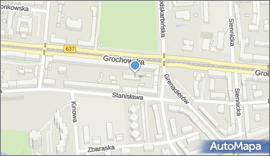 Klub Pracy Praga Południe, Grochowska 259a, Warszawa 03-844 - Przedsiębiorstwo, Firma, numer telefonu