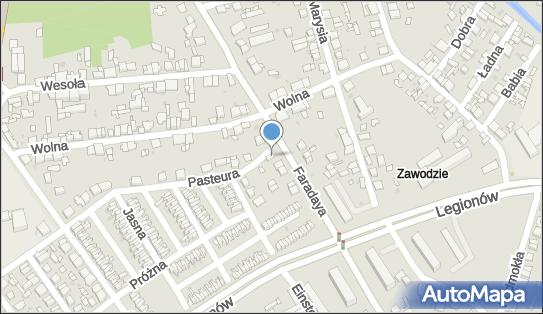 Market A z, Faradaya 50, Częstochowa 42-202 - Przedsiębiorstwo, Firma, NIP: 9490049141