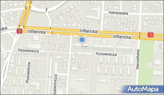 Organizacja Sieci Dystrybucji, Inflancka 19, Łódź 91-852 - Przedsiębiorstwo, Firma, NIP: 7261415169