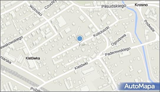 Pąprowicz Wojciech Zakład Usług Projektowych, Krosno 38-400 - Przedsiębiorstwo, Firma, NIP: 6841045429