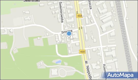 Parcela, ul. Smolna 1D, Sopot 81-877 - Przedsiębiorstwo, Firma, NIP: 5851465167
