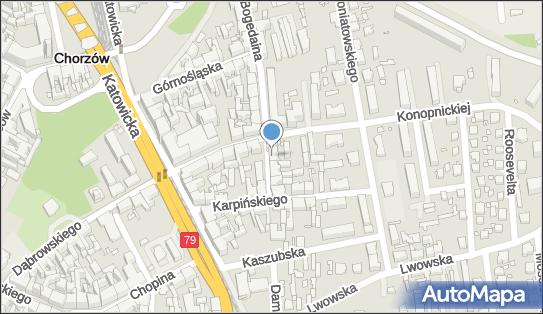 Pracownia Projektowo Urbanistyczno Konserwatorska Abakus, Chorzów 41-500 - Przedsiębiorstwo, Firma, numer telefonu, NIP: 6271762311