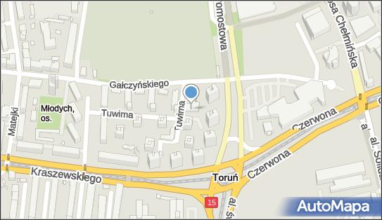 Prywatny Gabinet Neurologiczny, ul. Juliana Tuwima 9, Toruń 87-100 - Przedsiębiorstwo, Firma, NIP: 9561290879