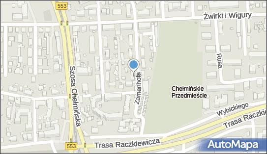 Przedsiębiorstwo Handlowo Usługowe, ul. Ludwika Zamenhofa 5 87-100 - Przedsiębiorstwo, Firma, NIP: 9561453057