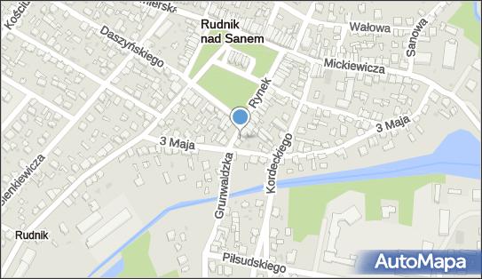Sklep Detaliczny, Grunwaldzka 3, Rudnik nad Sanem 37-420 - Przedsiębiorstwo, Firma, NIP: 8651356771