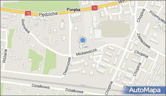 Stowarzyszenie Mieszkańców Miasta Poręba, Poręba 42-480 - Przedsiębiorstwo, Firma