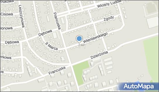 Usługi Transportowe, ul. Henryka Wieniawskiego 8, Bytom 41-908 - Przedsiębiorstwo, Firma, NIP: 6261625446