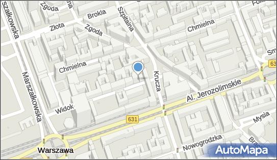 Restauracja 'Guru', ul. Widok 8, Warszawa - Restauracja