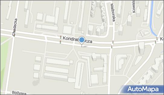 Trasa, Ścieżka Rowery, Kondratowicza Ludwika, Warszawa 00-983, 03-242, 03-285, 03-370, 03-642 - Rowery - Trasa, Ścieżka