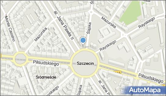 Trasa, Ścieżka Rowery, Plac Grunwaldzki, Szczecin - Rowery - Trasa, Ścieżka