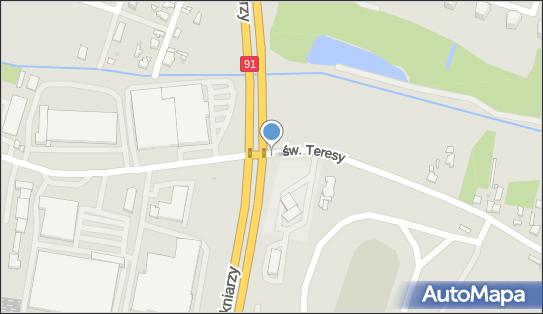 Trasa, Ścieżka Rowery, św. Teresy od Dzieciątka Jezus, Łódź 91-222, 91-341, 91-348 - Rowery - Trasa, Ścieżka