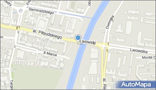 Trasa, Ścieżka Rowery, Most Lwowski878, Rzeszów 35-213 - Rowery - Trasa, Ścieżka