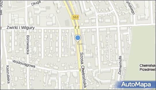 Kiosk Ruch, Szosa Chełmińska553 123, Toruń 87-100 - Ruch - Kiosk