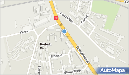 Kiosk Ruch, Chorzowska 12A, Bytom 41-902 - Ruch - Kiosk