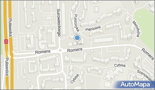 Ruch - Kiosk, Pięciolinii 9, Warszawa 02-784 - Ruch - Kiosk
