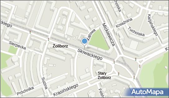 Ruch - Kiosk, Słowackiego Juliusza, Warszawa 01-592, 01-627, 01-629, 01-634, 01-690 - Ruch - Kiosk
