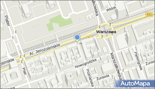 Ruch - Kiosk, Aleje Jerozolimskie x Poznańska, Warszawa - Ruch - Kiosk