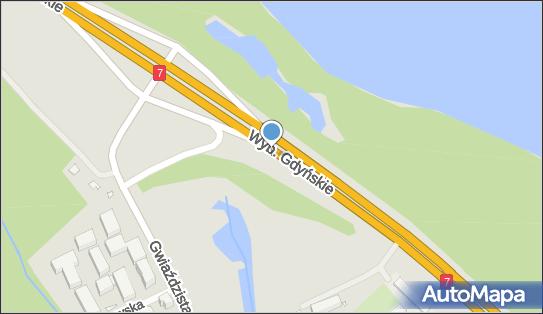 1,0 km, Wybrzeże GdyńskieE777, Warszawa 01-531 - Ryzyko kolizji ze zwierzętami