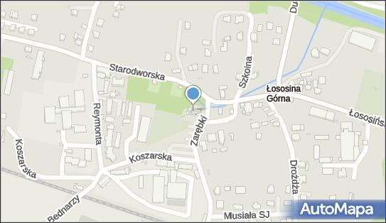 Wszystkich Świętych, Koszarska 1, Łososina Górna 34-600 - Rzymskokatolicki - Kościół, numer telefonu