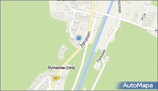 Biały Orzeł, Zdrojowa 48, Rymanów-Zdrój 38-481 - Sanatorium, numer telefonu
