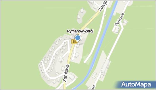 Gołąbek, Zdrojowa 55, Rymanów-Zdrój 38-481 - Sanatorium, numer telefonu