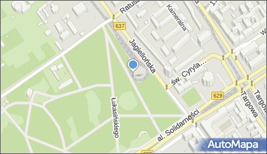 Siłownia na wolnym powietrzu, DW 637, Jagiellońska, Warszawa - Siłownia