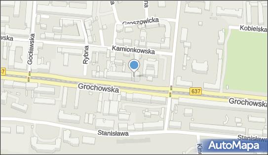 Skrzynka pocztowa, Grochowska637 278, Warszawa 03-841 - Skrzynka pocztowa