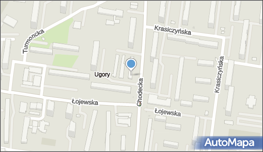 Bródno, Chodecka 13, Warszawa - Spółdzielnia mieszkaniowa