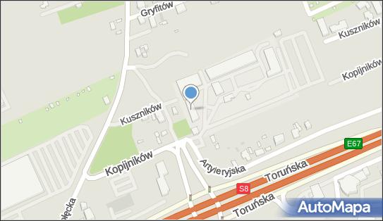 Przedsiębiorstwo Oczyszczania Miasta, Kopijników 13, Warszawa 03-274 - Stacja Kontroli Pojazdów, numer telefonu