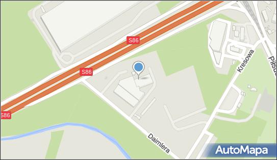 Stacja Kontroli Pojazdów, Daimlera Gottlieba, Sosnowiec 41-209 - Stacja Kontroli Pojazdów