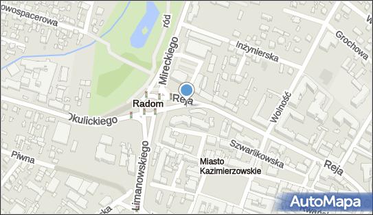 Strefa płatnego parkowania, Reja Mikołaja, Radom 26-610 - Strefa płatnego parkowania, godziny otwarcia