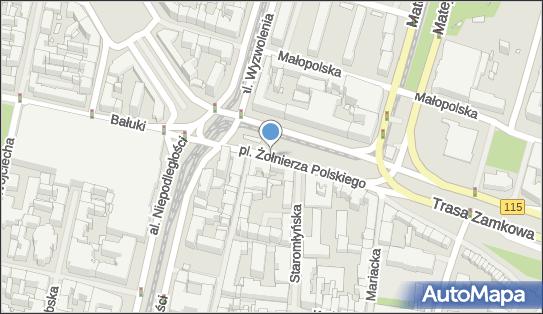 Strefa płatnego parkowania, Plac Żołnierza Polskiego, Szczecin - Strefa płatnego parkowania, godziny otwarcia