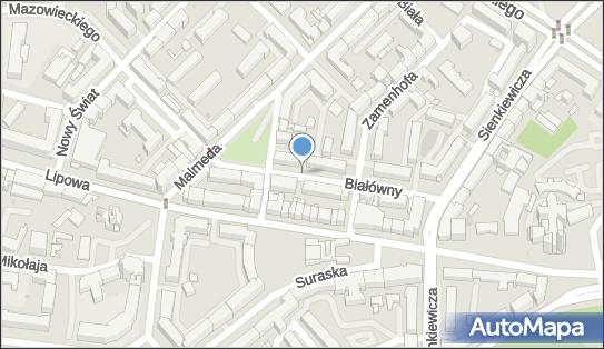 Strefa płatnego parkowania, Białówny Ireny, dr 6, Białystok 15-437 - Strefa płatnego parkowania