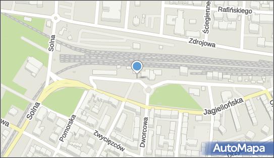 Dworzec PKP, Aleja Kolejowa 3, Kołobrzeg 78-100 - Taxi - Postój