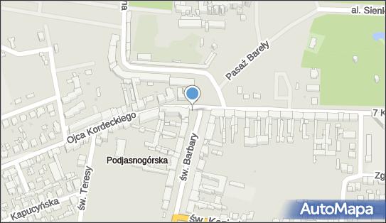 Postój Taxi, o. Augustyna Kordeckiego, Częstochowa 42-225, 42-226 - Taxi - Postój
