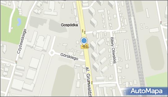Postój Taxi, Aleja Grunwaldzka, Gdańsk - Taxi - Postój