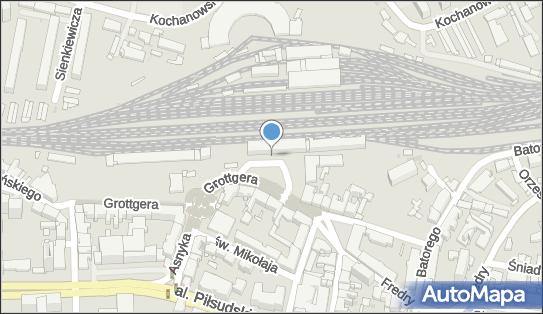 Postój Taxi, Plac Dworcowy, Rzeszów - Taxi - Postój