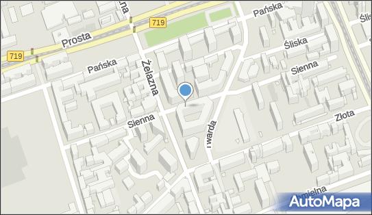 Postój Taxi, Sienna 75p, Warszawa 00-833 - Taxi - Postój