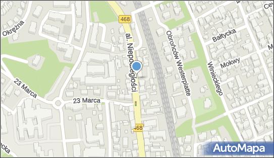 Postój Taxi, DW 468, Aleja Niepodległości, Sopot - Taxi - Postój