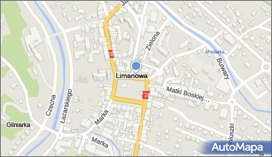 Postój Taxi, Rynek, Limanowa - Taxi - Postój