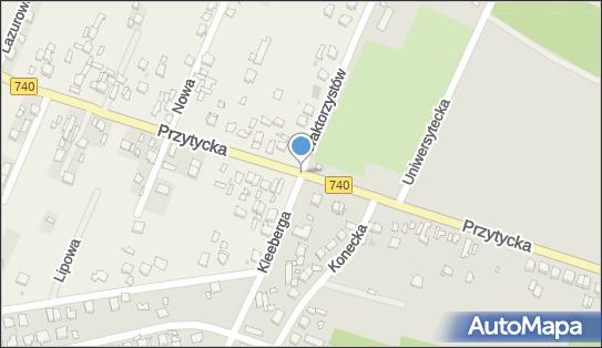 Strefa Taxi, DW 740, Radom - Taxi - Strefa