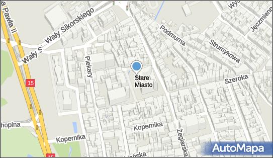 Ratusz Staromiejski, Rynek Staromiejski, Toruń 87-100 - Toaleta publiczna