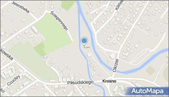nr 609, Piłsudskiego Józefa, marsz., Krosno 38-400 - Trafostacja