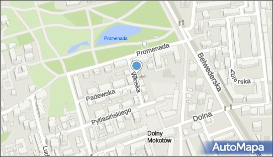 nr 6591, Włoska 8A, Warszawa 00-777 - Trafostacja