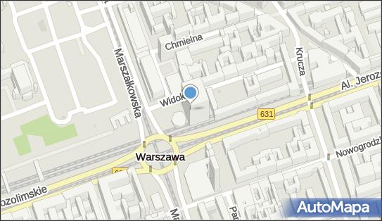 nr 6935, Aleje Jerozolimskie 44, Warszawa - Trafostacja