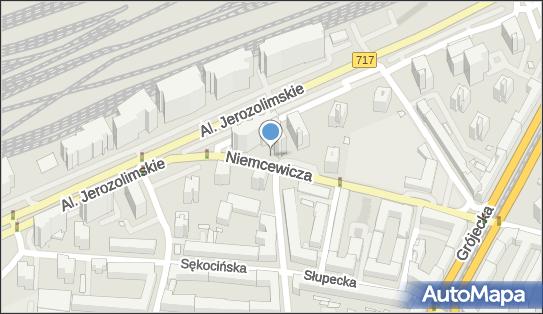 nr 6949, Niemcewicza Juliana Ursyna717, Warszawa 02-022, 02-027, 02-306 - Trafostacja