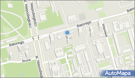 nr 7218, Stefana Batorego 33, Warszawa - Trafostacja